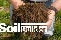 SoilBuilder™ / SoilBuilder is an innovative biochemical fertilizer catalyst formulated for application with liquid fertilizer.   SoilBuilder improves the conversion of organic and inorganic fertilizers into plant-available forms to help growers get the most out of their fertility programs—improving nutrient use efficiency, increasing crop yields, and potentially reducing over-application that can lead to nutrient runoff or leaching. / by Agricen
