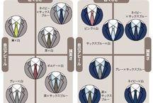 スーツ早見表