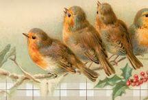 kuşlu dekopajlar
