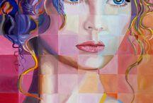 Art: grids / by Abbey Trescott