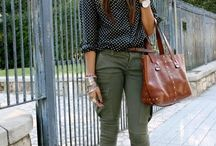 the olive pants :p