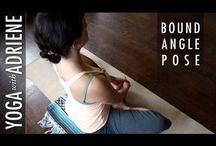 Yoga Bound Angle Pose