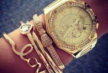 Arm bracelets+watches