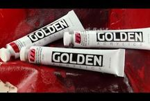 Art Stuff for Artists / Art materials and supplies coming from Golden Artist Colors, Inc., New Berlin, NY