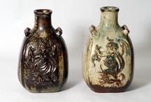 sprigging / ceramics with sprigs.