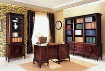 Gabinety / Study rooms / Gabinety, biblioteki, miejsca do pracy w domu - niezastąpione miejsce odosobnienia.  Home offices and libraries - indispensable to work from home.