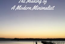 Modern Minimalism / Inspiration for modern minimalists including ideas, posts and advice #modernminimalism #minimalism