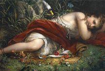 Franz Russ / Австрийский художник (1844-1906)