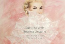 Sew your own lingerier