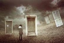 """Doors / Series of doors, that represent different concept of a """"door"""""""