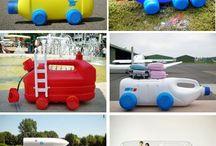 waste bottle toys