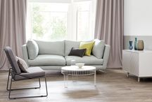 Milani Linen Blend / A versatile linen viscose blend with a soft, supple handle and subtle lustre that drapes beautifully, whilst remaining reassuringly durable for upholstery.