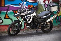 BMW F800 GS wrap