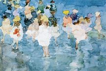 At the sea with Maurice Predergast