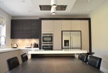 The Social Kitchen Diner / Modern appliances and a sociable kitchen space were key to the design of this new build home.