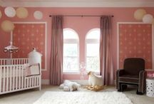 From Babble.com | 15 Oh-So-Pretty Nurseries for Girls / by cupcakeMAG