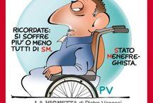 Cartoons / Le vignette di Pietro Vanessi pubblicate su SMItalia