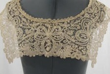 Vintage & Antique Lace / Lizzie sells magnificent Antique and Vintage Lace trim- collars cuffs, Dolies, Runners, Dresses