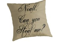 1D One Direction Throw Pillow