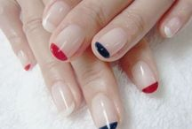 Nail Art | Manicure Inspiration / My nails never look this glam but a girl can dream