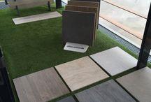 Keramische buitentegels / Vloertegels keramisch voor buiten 2 cm dik