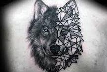 Wild animal tattoos