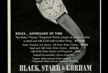 Cool Vintage Watch Ads