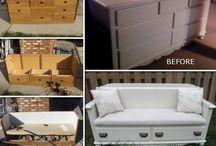 van oude meubels naar nieuw