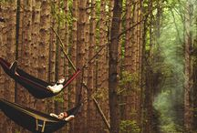 Hammock Camping / Camping in a hammock - hang about your campsite!