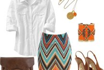 Spring outfits  / by Kelly Welch