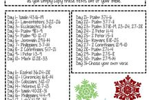 Scripture Writing Plans
