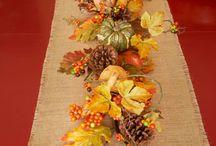 Autumn ~ Decorating ideas