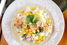 SEAFOOD RECIPES / This board features recipes from my blog and other bloggers with fish as the pain protein.  You'll see lots of fish tacos here!