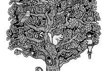 illustrations / by Kim van Renswouw