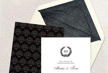 Invitaciones prediseñadas / ¿Buscas unas invitaciones de boda originales? Echa un vistazo a nuestra web www.eventosilustrados.com , te van a encantar! :)