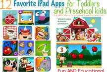 iPad Apps / iPad apps can be educational as well as fun for toddlers, preschoolers and elementary kids. Here are some ideas to embrace technology with kids and teach them some important lessons too..
