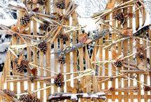 décorations d'extérieur de Noël