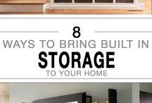 Build in storage
