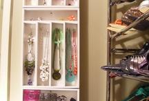 Jewelry Storage  / by Melissa Kinder