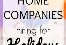 Work At Home Ideas / Some of the many ways you can work at home.
