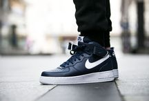 "Nike Air Force 1 Mid 07 ""Midnight Navy"" (315123-407)"