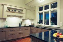 Granite benches by Trethewey / Granite kitchen bench tops