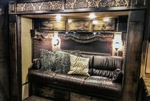 Trailer of the week 8982 / Outlaw Conversions custom living quarters, horse trailer premier interiors. outlawconversions.com