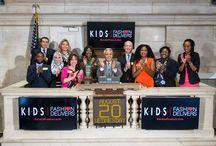 New York Stock Exchange / K.I.D.S./Fashion Delivers at the New York Stock Exchange.