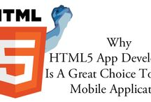 HTML5 App Development / HTML5 App Development: HTMLPanda - Get the best services for HTML5 App Development services from one of the best company in your budget with 100% satisfaction guarantee.  / by HTMLPanda