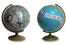 globes maps and atlas ideas