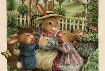 Bunnies illustrations