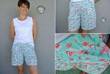 0 N 002 05c Bekleidung Shorts, Bermudas &  3/4 Hosen Nähen