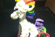 Geekery, Toy, Unicorn, Toy charm, Rainbow loom toy, Action figure, Geekery, Fun toy, Fantasy unicorn