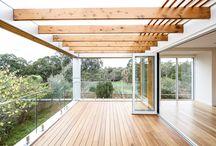 In Outdoor living Deck Verandah Beach House